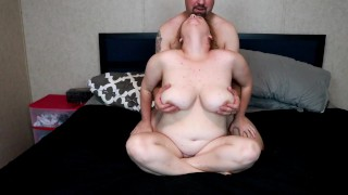 Giving Her Wild Orgasms Just By Rubbing Her Nipples and Big Tits