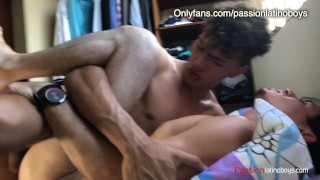 Top Dominant Boy bottoms for 1st time fucking Jock Athletic White guy-FlipFlop