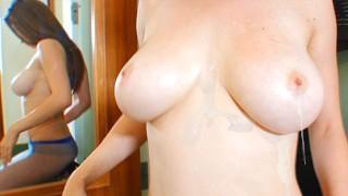 Cum on Tits Dirty Talk JOI with Pantyhose Academy´s Big Tidi Thot Dillion