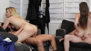 Hot Swinger couple gets down and dirty on the weekend.