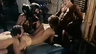 J.W. King in Massive Orgy - Joe Gage's CLOSED SET (1980)