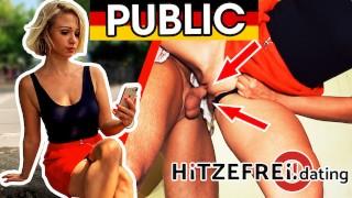 HORNY student GABI GOLD! Blowjob & fuck at her university! HITZEFREI.dating