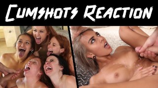 GIRL REACTS TO CUMSHOTS - HONEST PORN REACTIONS (AUDIO) - HPR03