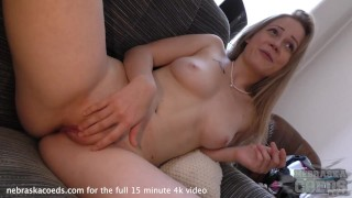 20yo kima does her first time video hot tiny blonde spinner