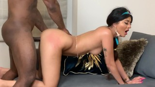 Princess Jasmine & The Big Black Cock
