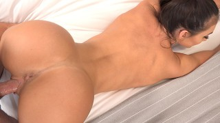 Daddy's Whore Davina Gets Creampied After Her Trip To The Gym