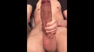 YOUNG HUGE DICK AND BALLS