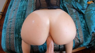 PAWG BEGGING FOR ANAL - POV