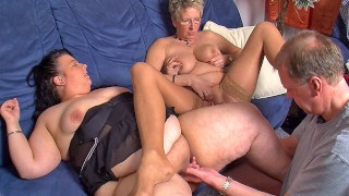 Mature couple invite younger BBW for a threesome