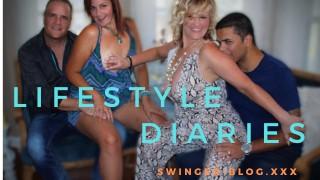 Lifestyle Diaries - Episode II -Enough Talking, Lets Fuck ✨Swinger-blog.XxX