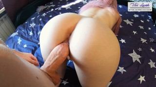 Perfect Round Ass Doggystyle POV and Blowjob