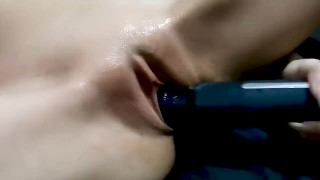 Mini Magic Wand Masturbation. Stereo Audio. Free Clip