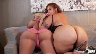 Thick Big Booty Latina Scarlett twerks on her Love Doll
