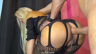 abstinence leads to 3 creampie on a stool (italian homemade)