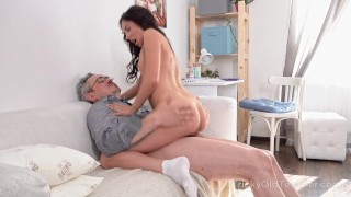 Sexy babe gets fucked after a long additional lessonRoxy Sky