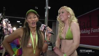 Naked News at Denver Exxxotica!