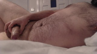 ASMR - Waking Up and Jerking Off Next To You