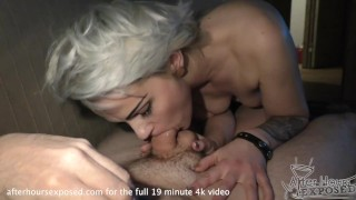 suzanne coming home with me after the bars for hot blowjob cum swallow