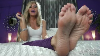 My Feet Want Your Cum From Your Throbbing Cock -JOI - Nikki Ashton -