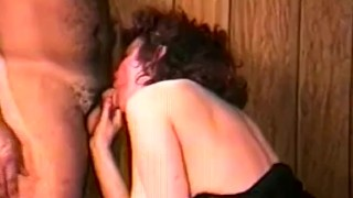 Hairy Nostalgic Sex From 1975 with Chubby Girlfriend
