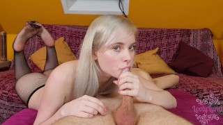 My young Pussy let him cum two times inside of me ! - Double Creampie
