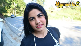 Carne Del Mercado - Petite Latina Teen Rough Interracial SEX - MamacitaZ