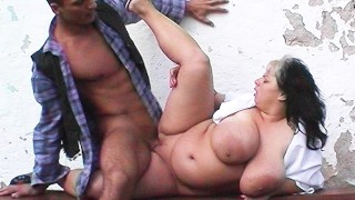 young monster tit bbw banged