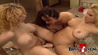 BRUCE SEVEN - Three Busty Babes Fuck With Toys