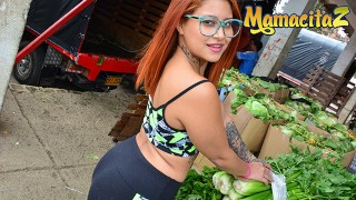Carne Del Mercado - Big Butt Colombian Tattooed Teen Oiled SEX - MamacitaZ
