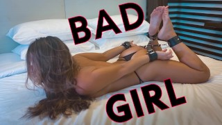 Hand Cuffed Super Hot Teen Gets Punished and Fucked Rough - BDSM POV