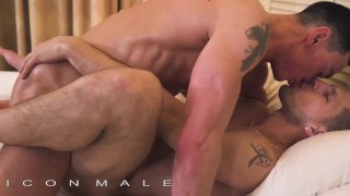 IconMale - Hunks gets a big load post massage