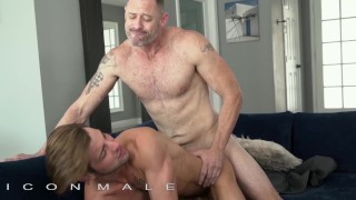 IconMale - Twink rides daddys big hard dick