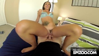 Hardcore Sex Tape in POV with Smoking Hot Brunette