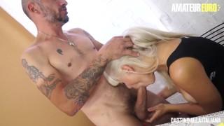 CastingAllaItaliana - Big Tits MILF HOT Anal Gape At Casting - AmateurEuro