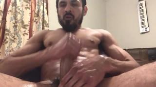Multiple full body orgasm cum shot ending