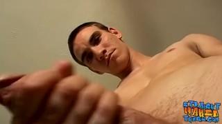 Straight dude masturbates and uses various sex toys