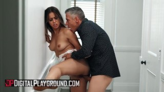 Digital Playground - Alina Lopez gets pounded by cock till facial