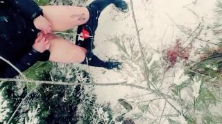 PEEING LIKE A BOY IN THE VIRGIN SNOW