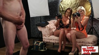 Cfnm babes photograph losers dick