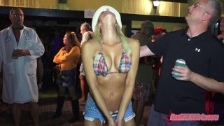 Sexy naked street flashers Key West fest p1