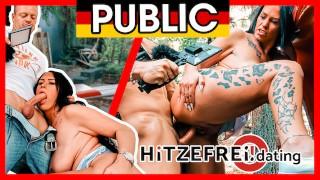 CUM oozing out of Zara Mendez' CUNT! OUTDOOR SEX! HITZEFREI.dating