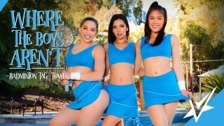 VIVID Abella, Milana & Kendra Squirting Lesbian Threesome