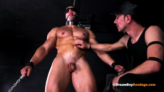 HOT STRAIGHT MUSCLE STUD DOMINATED BY ANOTHER GUY