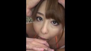 【無】縦型動画 043 ~鼻汁が出るほどイラマチオ~ パート2