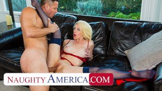 Naughty America Kit Mercer fucks her stepson's bully to get him to stop