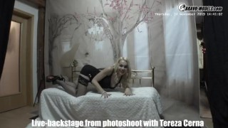 Bravo Models Media - Prague - Backstages from photoshoots - Rebeka Black