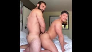 Diego Grant & Jaxton Wheeler bareback fun