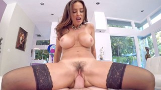 POVD Porn Star Lisa Ann Holiday Fuck In Both Holes Compilation
