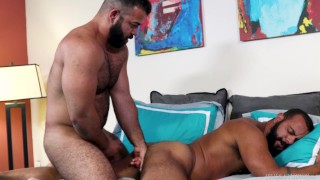 BearBack - Hairy Latino Men Have Passionate Sex