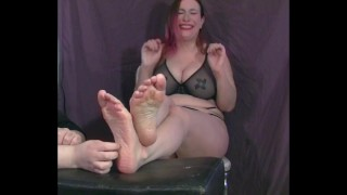 Mia Stella BIG Ticklish Feet
